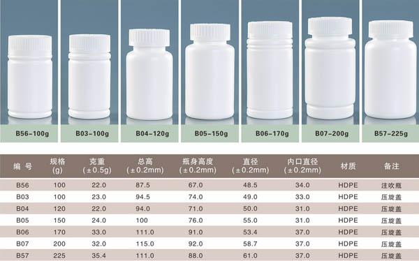 北京保健品瓶