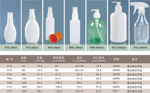 北京喷雾塑料瓶