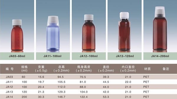 黑龙江口服液塑料瓶