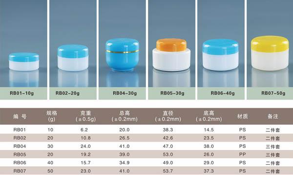 天津塑料软膏盒